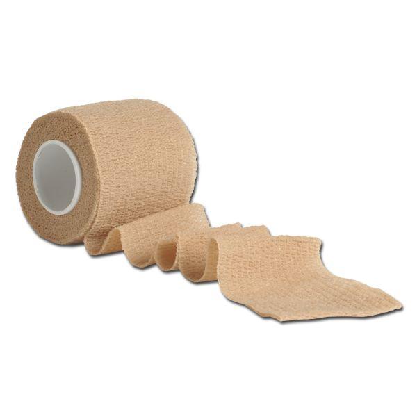 Nastro da camuffamento elastico adesivo color sabbia