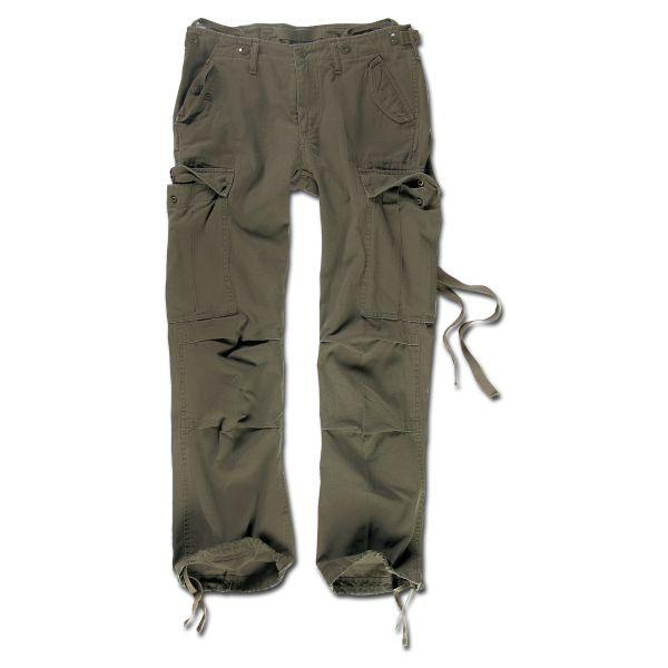 Pantaloni da donna M65 marca Brandit verde oliva