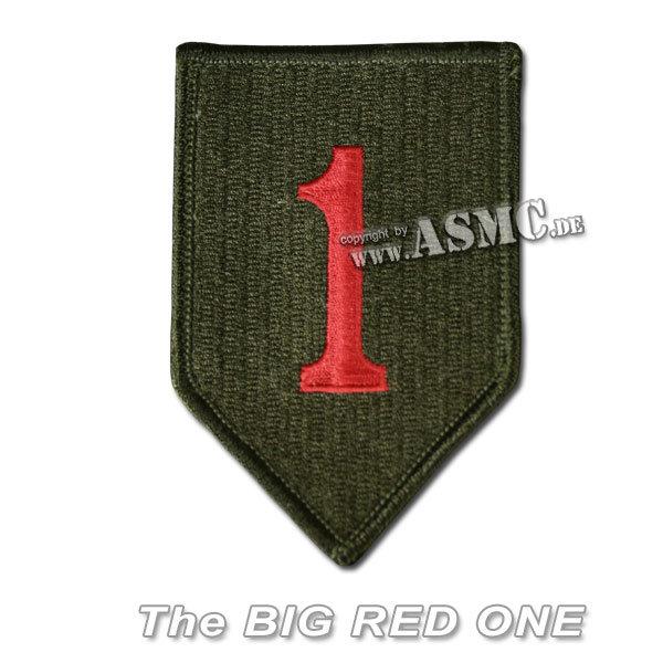 Distintivo in tessuto US 1. Divisione