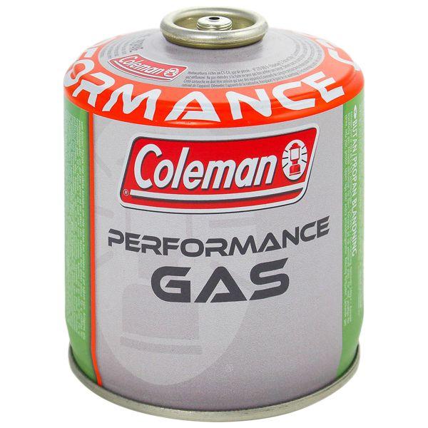 Cartuccia gas con valvola filettata, C500, Coleman