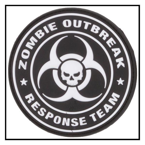 Patch 3D Zombie Outbreak Response Team swat