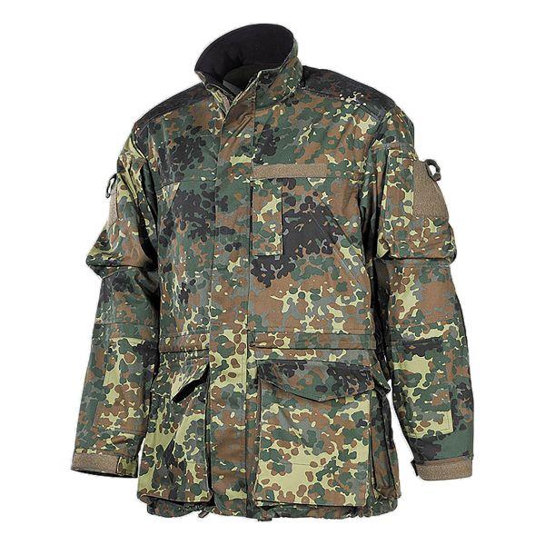 BW giacca da combattimento lungo flecktarn