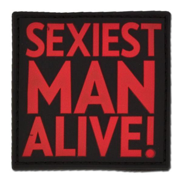 Patch 3D SEXIEST MAN ALIVE blackmedic