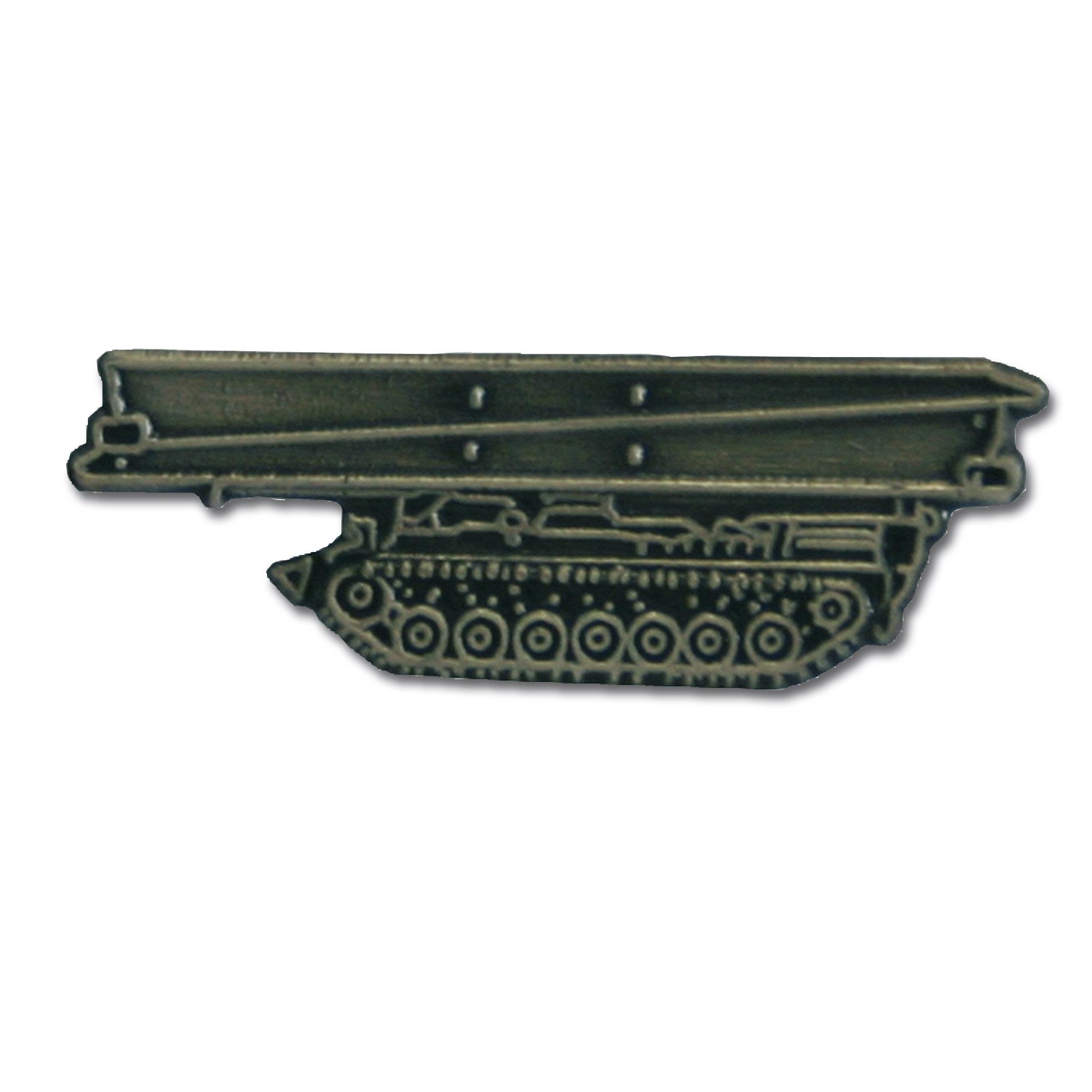 Mini spilla in metallo carro gettaponte Biber