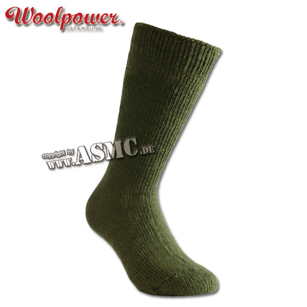 Calzino artico Woolpower oliva