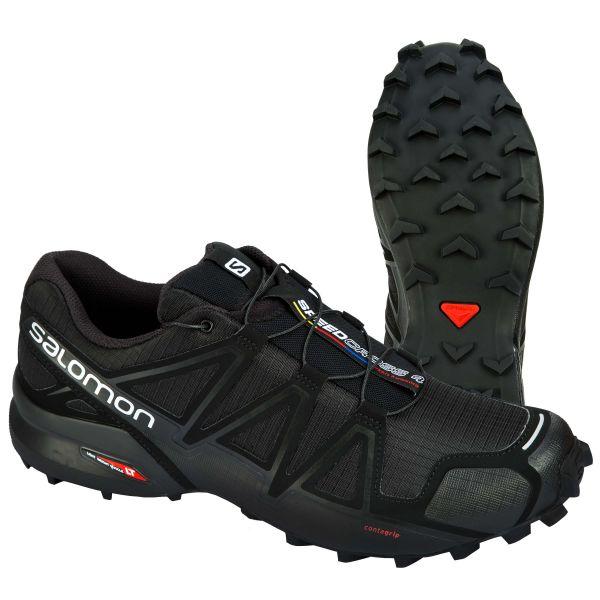 Scarpe Speedcross 4 marca Salomon nero argento