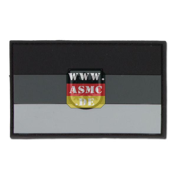 3D-Patch Germania con stemma subbed grigia