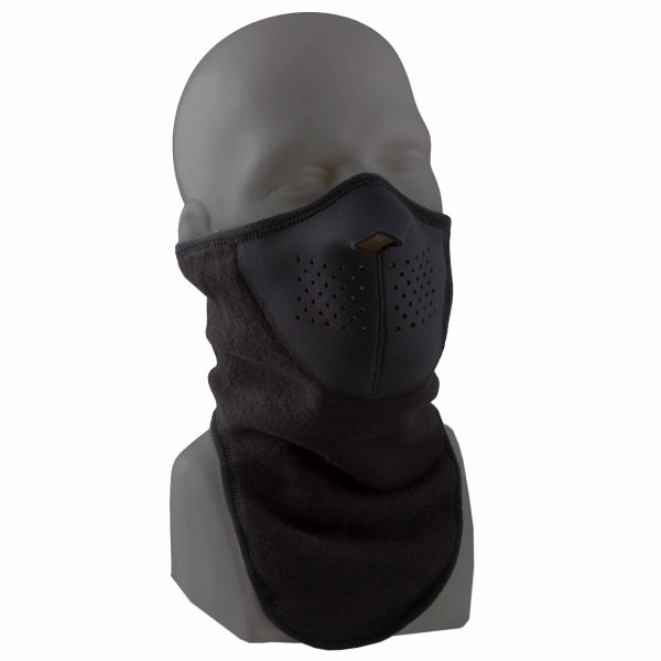 Maschera protezione viso, Forze Speciali, colore nero