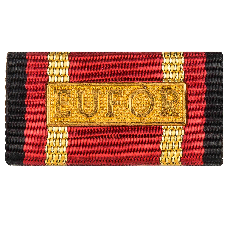 Ordensspange Auslandseinsatz EUFOR gold
