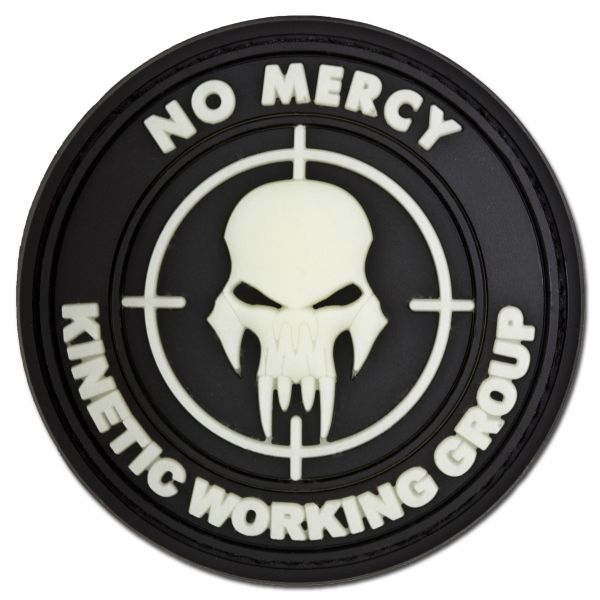 Patch 3D NO MERCY - KINETIC WORKING GROUP luminescente