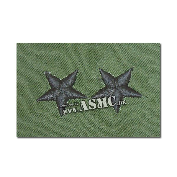 Rank Insignia US Chevron embroidered MajGen