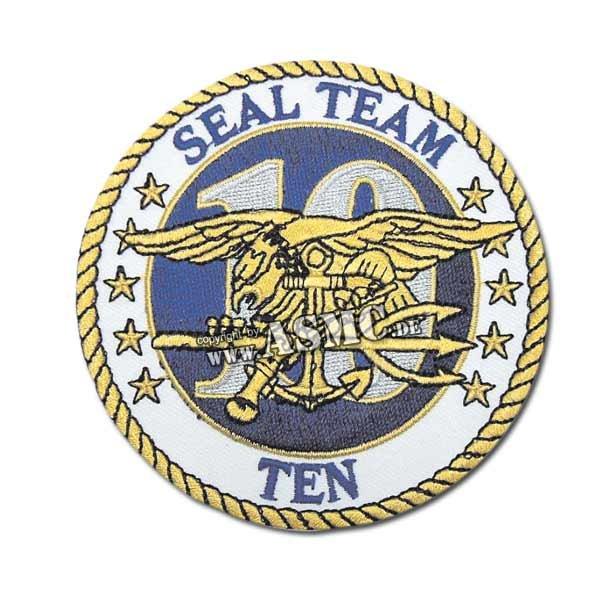 Insignia US textil Seal Team Ten
