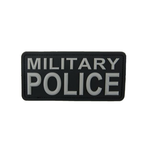 Patch in gomma 3D Military Police swat