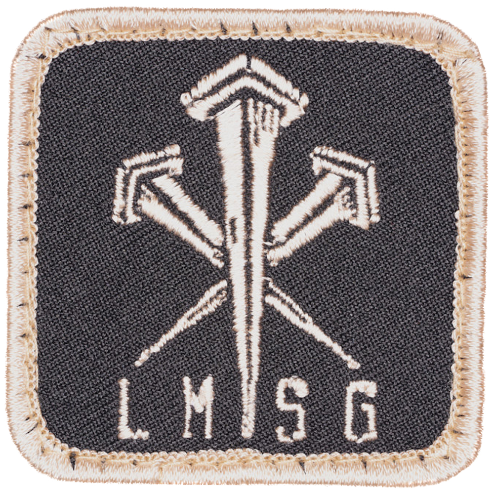 LMSGear Patch Logo Nails tan