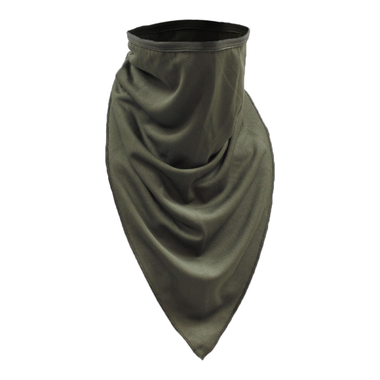 Fazzoletto Tactical, marca MFH, verde oliva