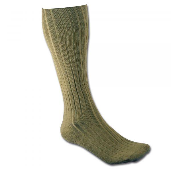 Calze da stivali gambale lungo BW color kaki