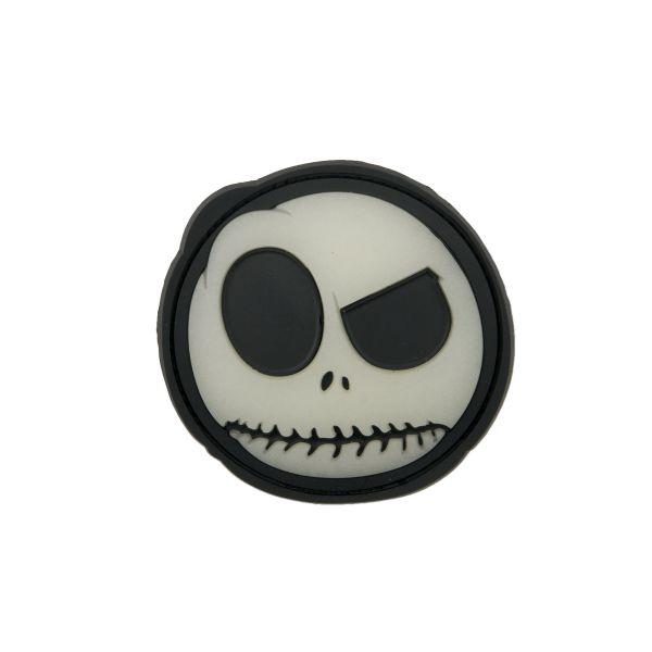 3D-Patch Big Nightmare Smiley bagliore nel buio